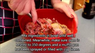 Js Video: How To Make  Meatloaf Cupcakes W/ Mashed Potato Frosting