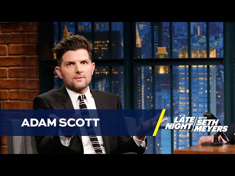 Adam Scott's Kids Are AntiTrump