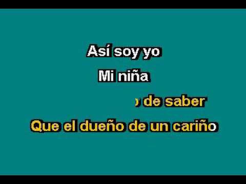 Jose Jose   Mi Niña Karaoke