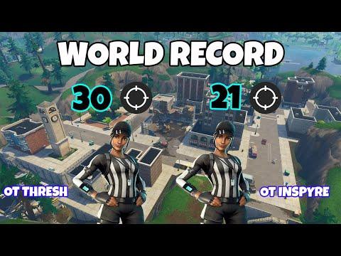 We Broke The Fortnite WORLD RECORD! 51 Kill Duo Squad