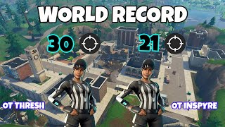 We Broke The Fortnite WORLD RECORD! 51 Kill Duo Squad