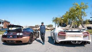 Hermes Bugatti Chiron VS Bugatti Grand Sport Vitesse | Manny Khoshbin