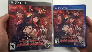 Tokyo Twilight Ghost Hunters (PS3 / PS Vita) Unboxing !!