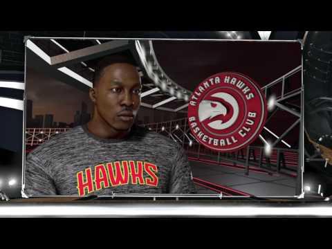NBA 2K17 - Atlanta Hawks vs Houston Rockets - Full Match - [PS4/XB1] Gameplay
