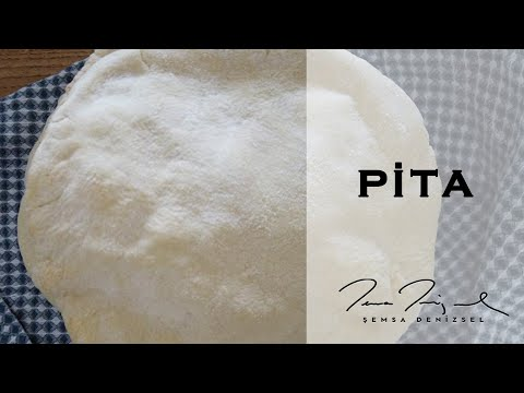 Pita Ekmeği Nasıl Yapılır? I Şemsa Denizsel