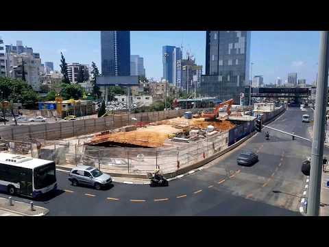 Subway construction, Ramat Gan