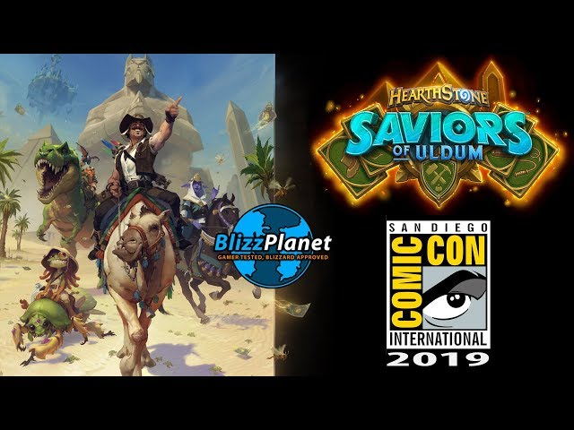 SDCC 2019 Hearthstone: Saviors of Uldum Panel