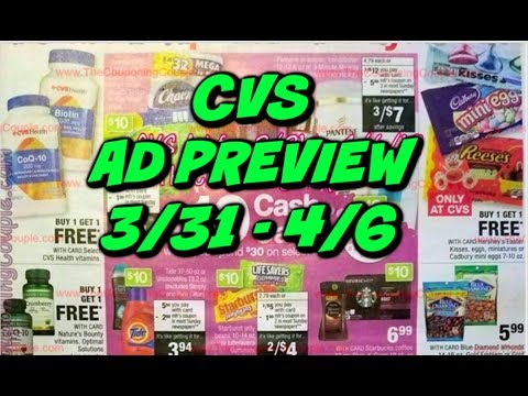 CVS AD PREVIEW 3/31 – 4/6 | MONEYMAKER MAKEUP THIS WEEK!