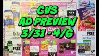 CVS AD PREVIEW 3/31 - 4/6 | MONEYMAKER MAKEUP THIS WEEK!