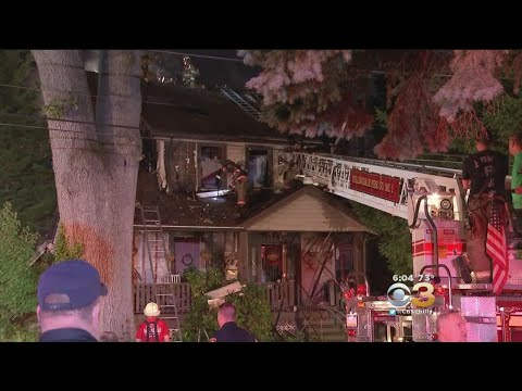 Fire Destroys Home In Delaware County