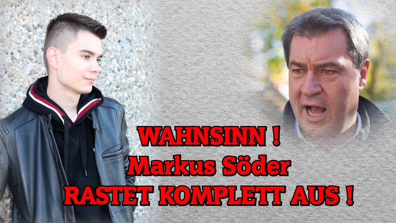 WAHNSINN! Markus Söder RASTET KOMPLETT AUS!