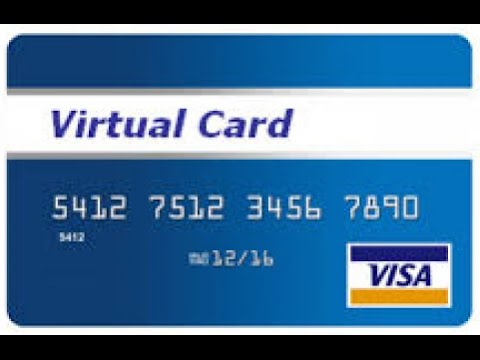 How to get Free Virtual Credit Card with No minimum amount