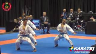 FRMK : National Kata Team of Morocco Karate1 Premier League Dutch Open 2016