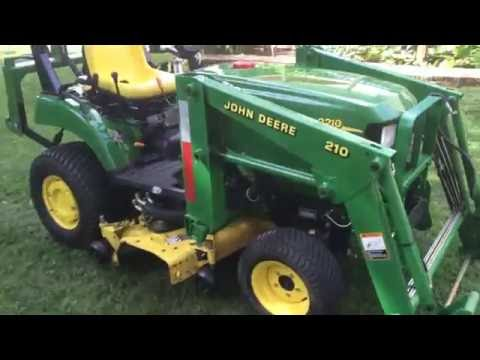 how to drive a compact tractor 2210