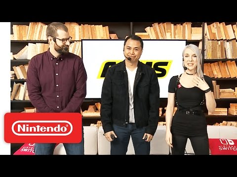 ARMS Gameplay – Nintendo Treehouse: Live with Nintendo Switch