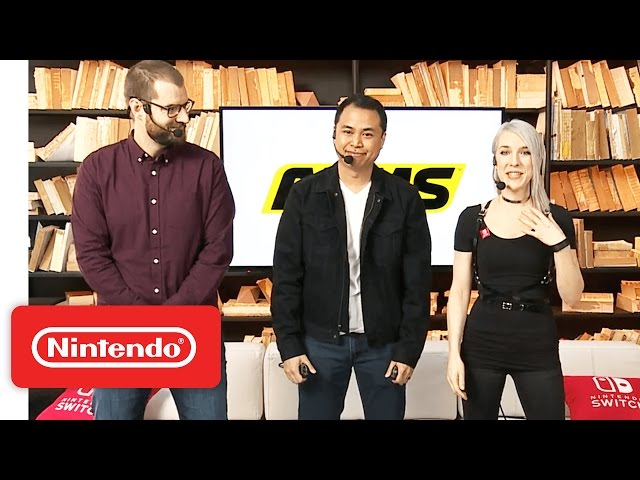 ARMS Gameplay - Nintendo Treehouse: Live with Nintendo Switch