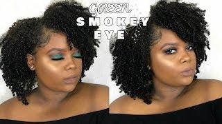 Green Smokey Eye | Inspired by Tina Halada