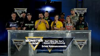 2019 Monster Jam Season Kickoff Announcement