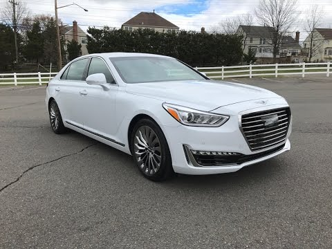 2017 Genesis G90 3.3T Redline Review
