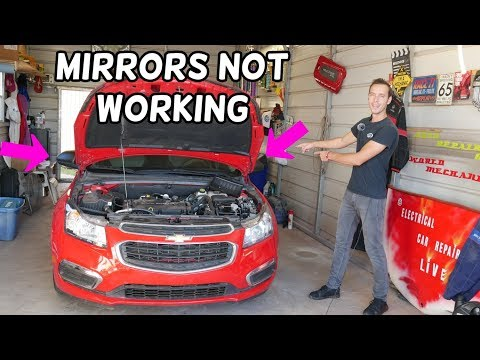 CHEVROLET CRUZE SIDE MIRRORS NOT WORKING OR LEFT RIGHT MIRROR NOT WORKING FIX