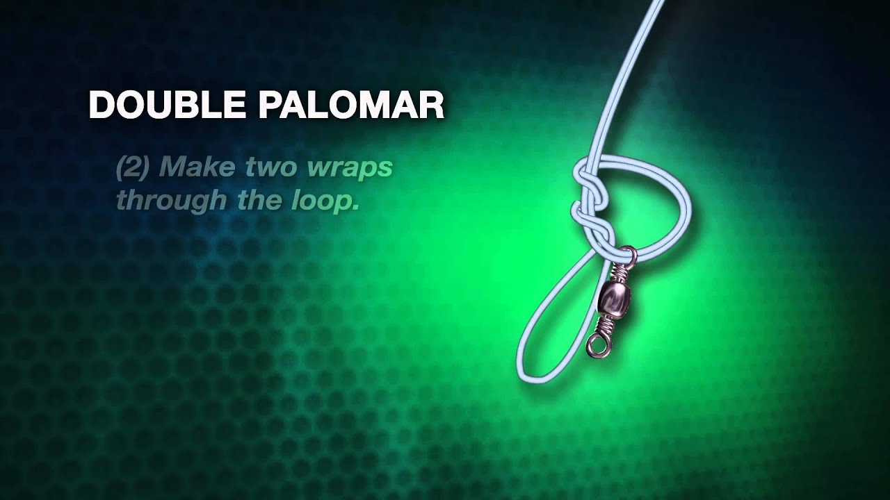 Double Palomar How To Knot Series Youtube
