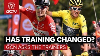 Has Pro Cycling Training Changed?   GCN Asks The World Tour Coaches