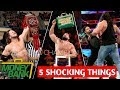 WWE Money In The Bank 19 May 2019 Highlights Results Winners Predictions ! ( 5 Things )