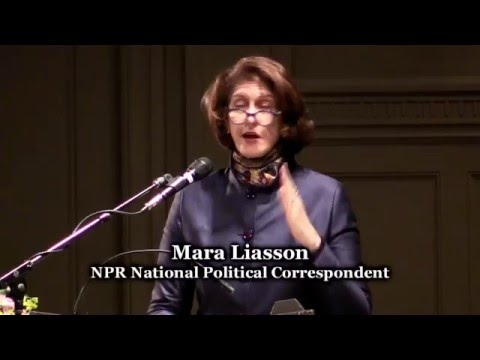 Mara Liasson - Speaking at Town Hall Seattle - March 31, 2016