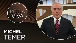 Roda Viva | Michel Temer | 16/09/2019