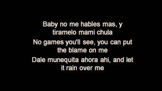Pitbull ft. Marc Anthony - Rain Over Me - Lyrics
