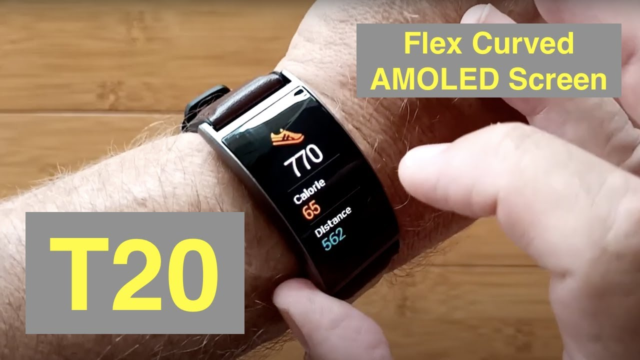 SENBONO T20 IP67 Fitness Tracker 1.5'' Flex AMOLED Blood Pressure Smartwatch: Unboxing and 1st Look
