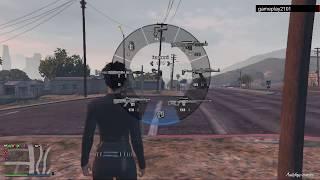 GTA 5 Выяснение отношений с каким то игроком