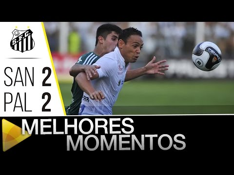 Santos 2 (3) x (2) 2 Palmeiras | MELHORES MOMENTOS | Paulistão (24/04/16)