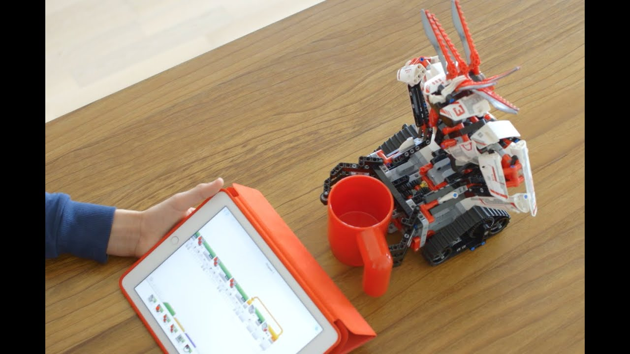 Introducing 'EV3 Programmer' App for Tablets - LEGO MINDSTORMS EV3