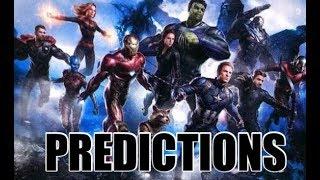 AVENGERS 4 *PREDICTIONS*