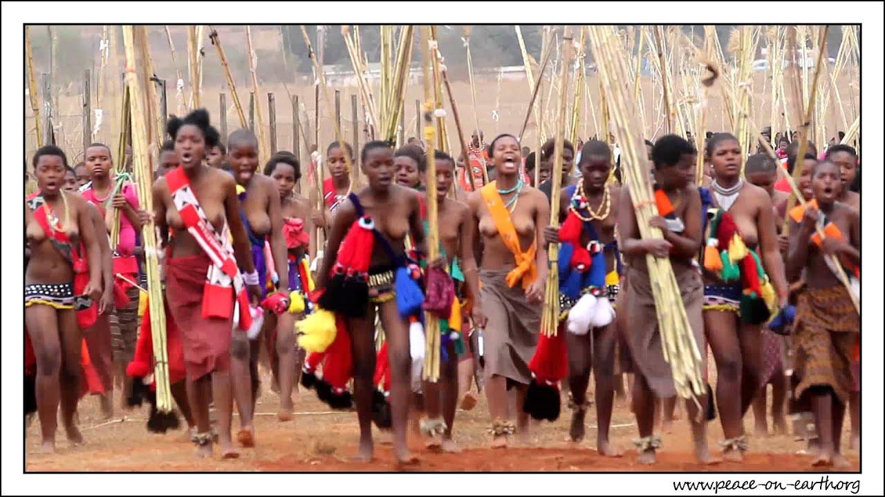 2012 Umhlanga Reed Dance Ceremony, Swaziland (3) - YouTube