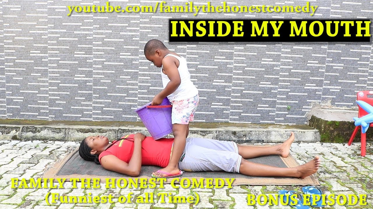 INSIDE HER MOUTH (Mark Angel Comedy) (Very Funny Must Watch)