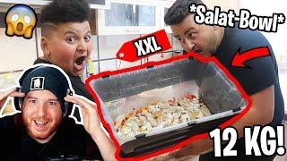 😋😱XXL *SALAT-BOWL* gemacht und gegessen! | Can Wick