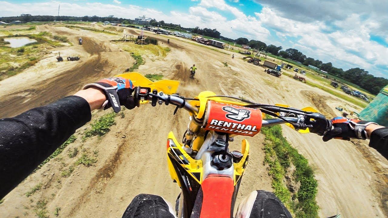 Casing a Motocross Jump