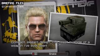 Metal Gear Solid Peace Walker - Miller: Special Items