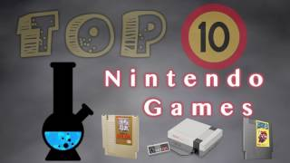 Top 10 Nintendo Game List by The AC Show