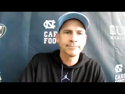 Video: UNC TE Coach John Lilly Friday Post-Practice Interview