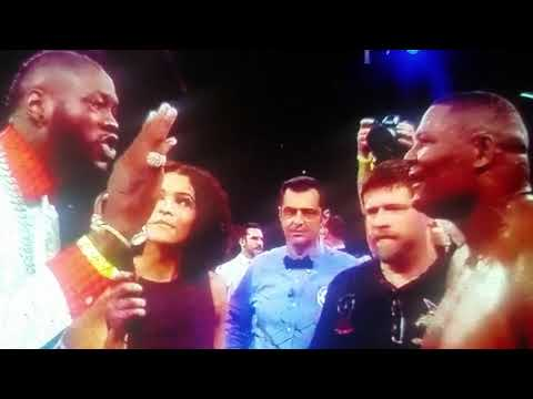 POST FIGHT REVIEW: LUIS ORTIZ KO'S DANIEL MARTZ THEN HE CONFRONTS & CALLS OUT DEONTAY WILDER!