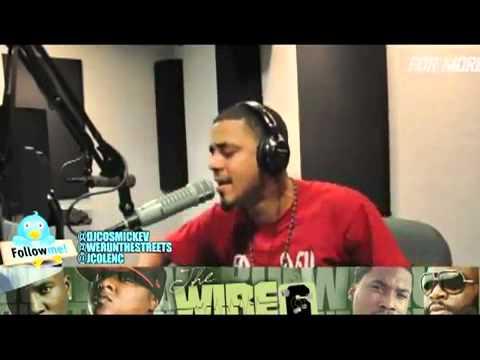 J Cole Freestyle On Power 99 Over Meek Mill Ima Boss _ Otis Kanye West ft Jay