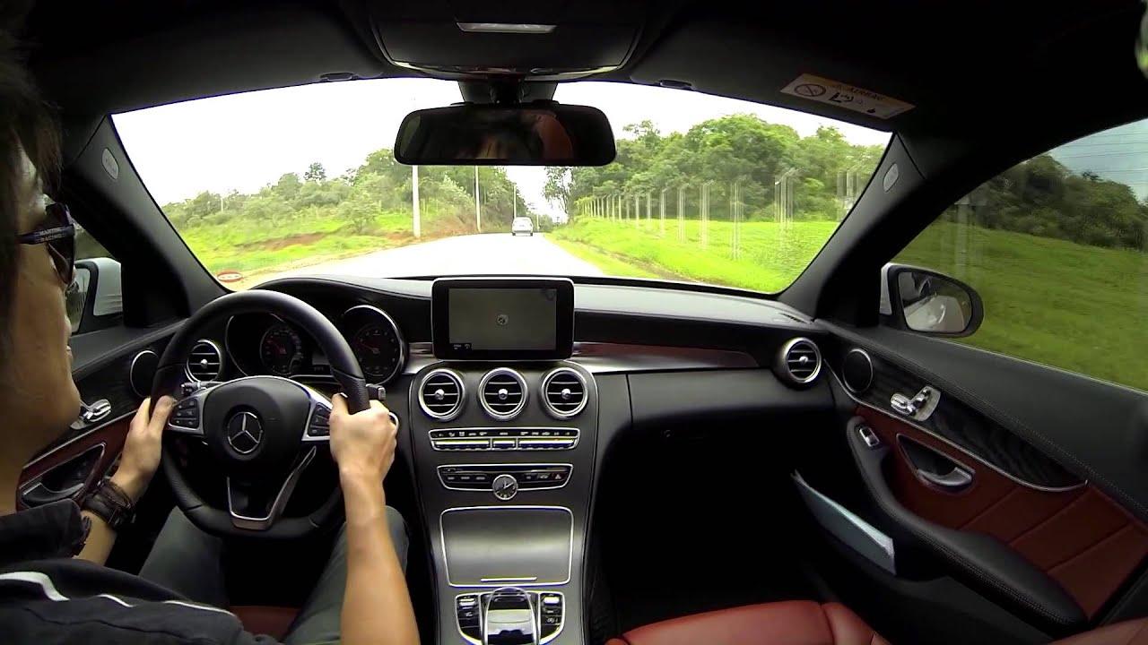 Mercedes benz c250 sport no brasil teste do novo classe c 2015