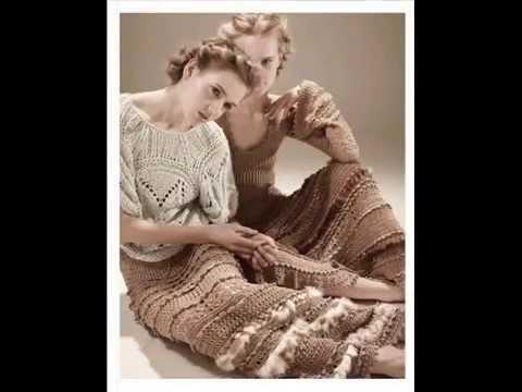 Вязаные платья Ванессы Монторо. Crochet Dress Vanessa Montoro.