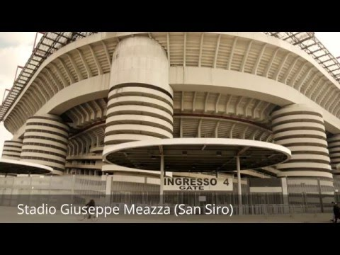 Places to see in ( Milan - Italy ) Stadio Giuseppe Meazza (San Siro)