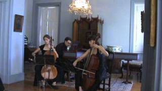 DeFesch - Cello Sonata op.8 n.3 in d minor- Siciliano