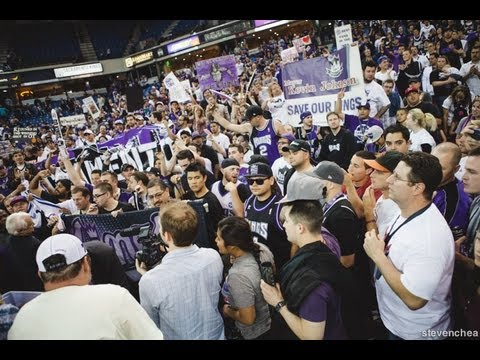 What happened postgame in the Sacramento Kings