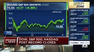 Dow jumps 120 points to close just shy of 35,000 on earnings optimism